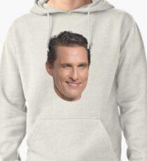 Matthew McConaughey's Head Pullover Hoodie