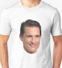 Matthew McConaughey's Head Unisex T-Shirt
