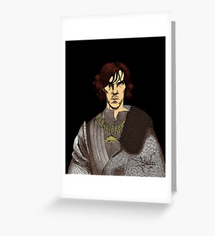 The Hollow Crown - Shakespeare's Richard III (colour) Greeting Card