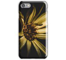 Flower in the dark iPhone Case/Skin