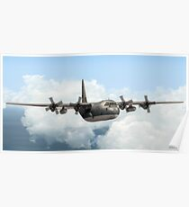 RAAF C-130E Hercules Poster