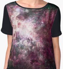 Colorful Galaxy Nebula Chiffon Top