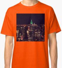 New York night skyline Classic T-Shirt