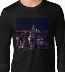 New York night skyline Long Sleeve T-Shirt