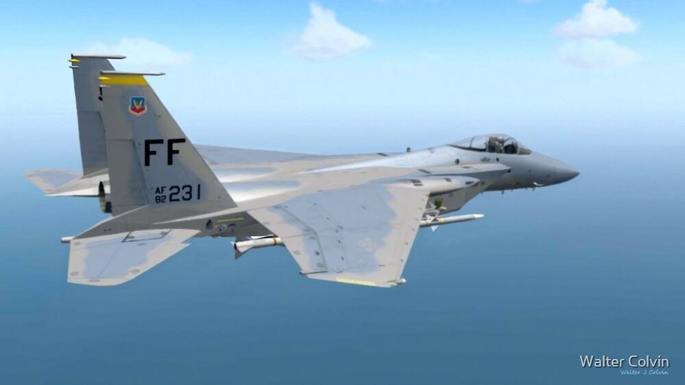 F-15 Strike Eagle by Walter Colvin
