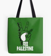 Free Palestine! Tote Bag