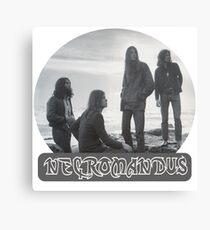 Necromandus - St Bees Cumbria - 1972 Canvas Print