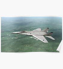 German Ikoyan MiG-29a ( Fulcrum ) Poster