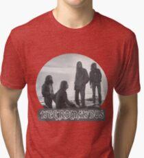 Necromandus - St Bees Cumbria - 1972 Tri-blend T-Shirt