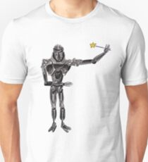 Cute Cylon with a Wand T-Shirt