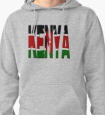 Kenya flag Pullover Hoodie