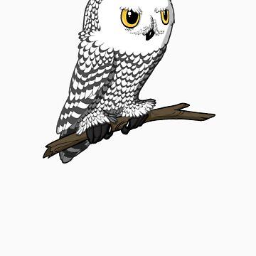 Snowy Owl by KristelMallet