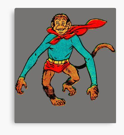 Super Monkey Canvas Print