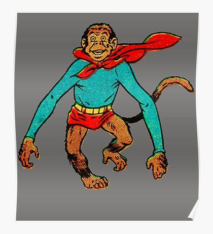 Super Monkey Poster