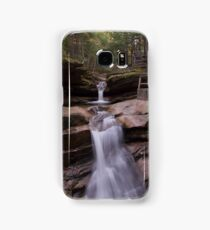 Sabbaday Falls in Autumn Samsung Galaxy Case/Skin