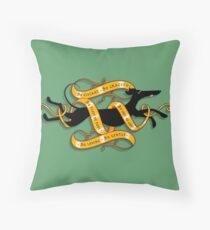 Medieval Grey Throw Pillow