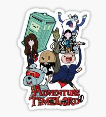 Adventure Time-Lord Generation 12 Sticker