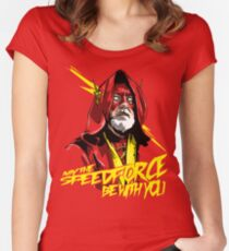 Use the Speedforce Women's Fitted Scoop T-Shirt