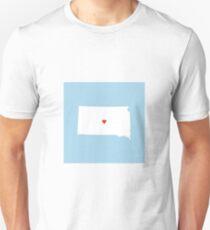 South Dakota Love Unisex T-Shirt
