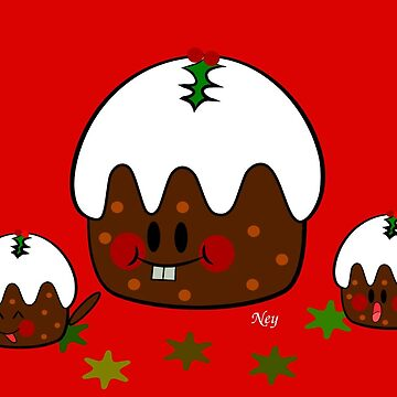 Panettone kawaii by Nehimy