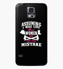 Women Firefighter - Your first mistake Case/Skin for Samsung Galaxy
