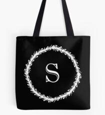Monochrome Monogram S Tote Bag