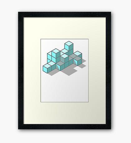 Cubism 01 Framed Print