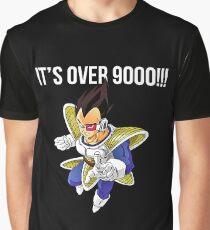 es ist über 9000 Grafik T-Shirt
