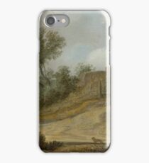 GOYEN, JAN VAN (CIRCLE OF) (LeidenThe Hague) A dune landscape with farmhouse among trees. iPhone Case/Skin