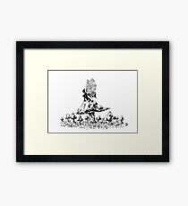Fairy Ink Framed Print