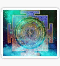 Yantra Mandala Magical Sky Sticker