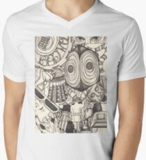 The World of the Doctor Men's V-Neck T-Shirt
