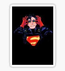 90's hero Sticker