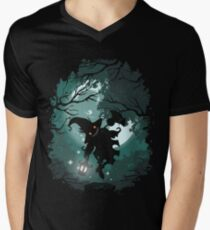 ZELDA TWILIGHT PRINCESS SKULLKID Men's V-Neck T-Shirt