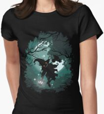 ZELDA TWILIGHT PRINCESS SKULLKID Women's Fitted T-Shirt