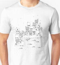 Harbour Sketch Unisex T-Shirt
