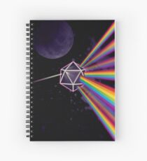 Pink Floyd Dark Side of the Moon Dungeons & Dragons Spiral Notebook