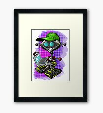PC ROBOT Framed Print