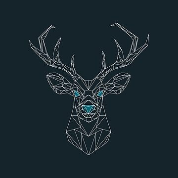 Stag on a Wire by WorkingWalrus