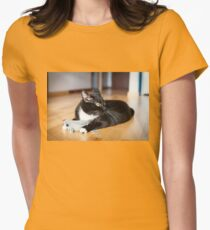 Cat playing with mouse-toy T-Shirt