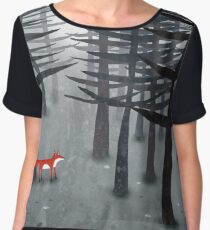 The Fox and the Forest Women's Chiffon Top