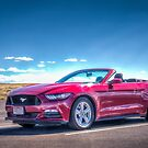 Red Hot Mustang by vivsworld