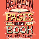 Between pages by Risa Rodil