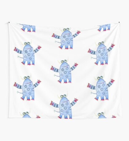 Monster Fred Wall Tapestry