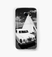 Route 66 Wigwam Motel and Classic Car Samsung Galaxy Case/Skin