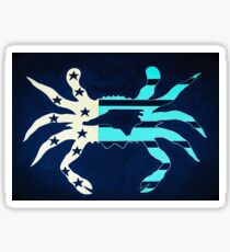 Carolina crab Sticker