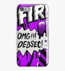 WATCH_DOGS 2 - DedSec (Firewalls Be Like...) iPhone Case/Skin