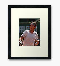 Rafael Nadal Tennis Champion  Framed Print