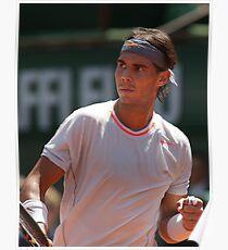 Rafael Nadal Tennis Champion  Poster