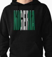 Nigeria flag Pullover Hoodie
